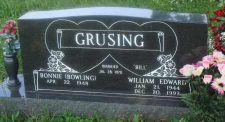 "GRUSHING, WILLIAM EDWARD ""BILL"" - Newton County, Arkansas | WILLIAM EDWARD ""BILL"" GRUSHING - Arkansas Gravestone Photos"