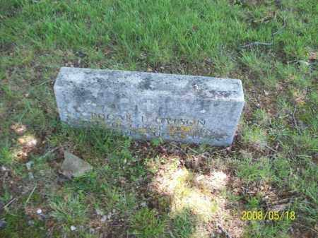 GYPSON, EDGAR L - Newton County, Arkansas   EDGAR L GYPSON - Arkansas Gravestone Photos