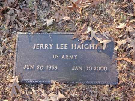 HAIGHT  (VETERAN), JERRY LEE - Newton County, Arkansas | JERRY LEE HAIGHT  (VETERAN) - Arkansas Gravestone Photos