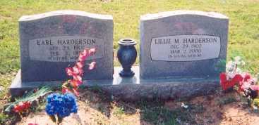 HARDERSON, EARL - Newton County, Arkansas | EARL HARDERSON - Arkansas Gravestone Photos