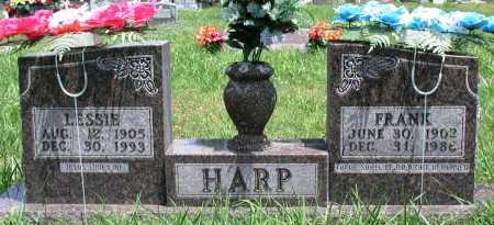 HARP, FRANK - Newton County, Arkansas | FRANK HARP - Arkansas Gravestone Photos