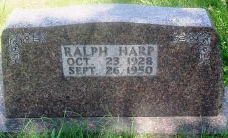 HARP, RALPH - Newton County, Arkansas | RALPH HARP - Arkansas Gravestone Photos