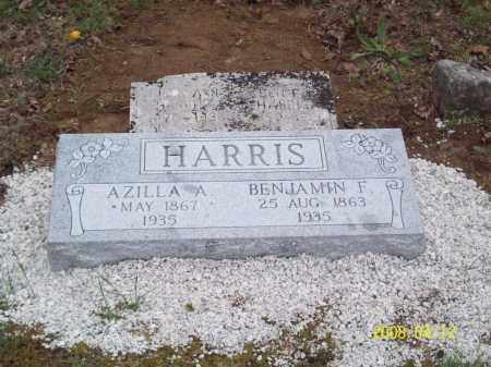 "HARRIS, AZILLA ANN ""ZILLA"" - Newton County, Arkansas 