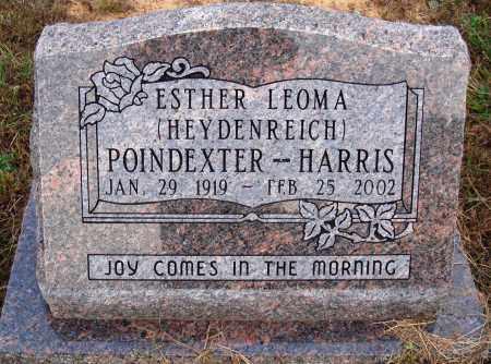HARRIS, ESTHER LEOMA - Newton County, Arkansas | ESTHER LEOMA HARRIS - Arkansas Gravestone Photos