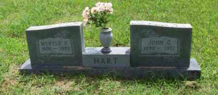 HART, MYRTLE FRANCES - Newton County, Arkansas | MYRTLE FRANCES HART - Arkansas Gravestone Photos