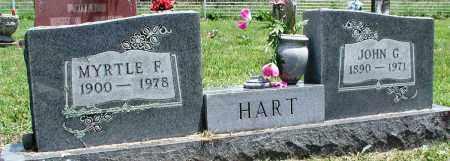 HART, MYRTLE F - Newton County, Arkansas | MYRTLE F HART - Arkansas Gravestone Photos