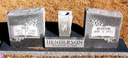 HENDERSON, BILL - Newton County, Arkansas | BILL HENDERSON - Arkansas Gravestone Photos