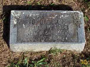 HENDERSON, BETTY LOUISE - Newton County, Arkansas | BETTY LOUISE HENDERSON - Arkansas Gravestone Photos