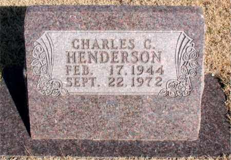 HENDERSON, CHARLES C. - Newton County, Arkansas | CHARLES C. HENDERSON - Arkansas Gravestone Photos