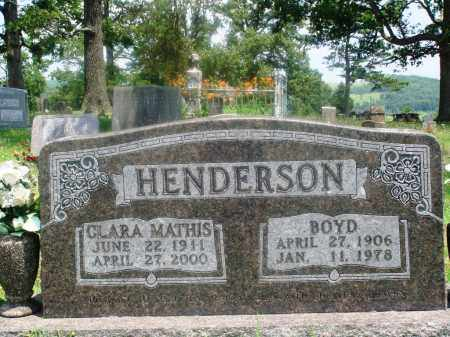 HENDERSON, CLARA - Newton County, Arkansas | CLARA HENDERSON - Arkansas Gravestone Photos