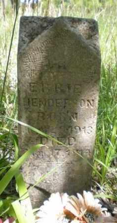 HENDERSON, ERBIE - Newton County, Arkansas   ERBIE HENDERSON - Arkansas Gravestone Photos