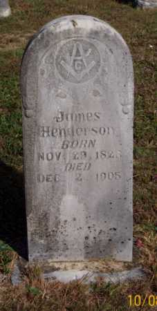 HENDERSON, JAMES - Newton County, Arkansas | JAMES HENDERSON - Arkansas Gravestone Photos
