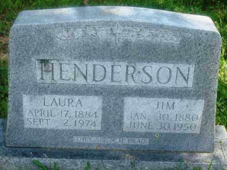 HENDERSON, LAURA - Newton County, Arkansas | LAURA HENDERSON - Arkansas Gravestone Photos
