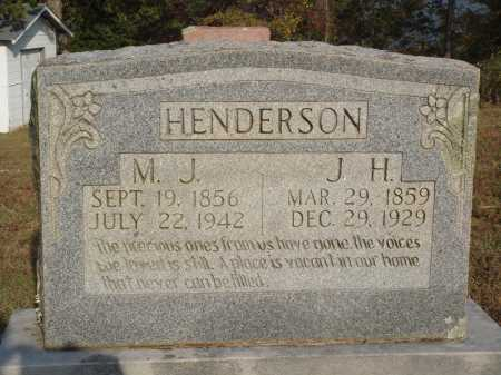 HENDERSON, J. H. - Newton County, Arkansas | J. H. HENDERSON - Arkansas Gravestone Photos