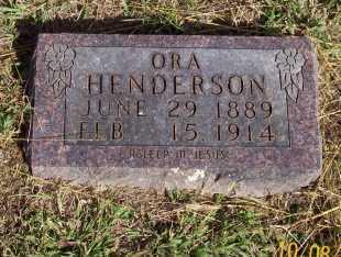 HENDERSON, ORA - Newton County, Arkansas | ORA HENDERSON - Arkansas Gravestone Photos