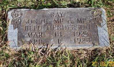 HENDERSON, RAY - Newton County, Arkansas | RAY HENDERSON - Arkansas Gravestone Photos