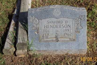 HENDERSON, SANFORD D. - Newton County, Arkansas   SANFORD D. HENDERSON - Arkansas Gravestone Photos