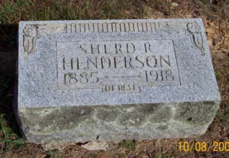 HENDERSON, SHERD R. - Newton County, Arkansas | SHERD R. HENDERSON - Arkansas Gravestone Photos