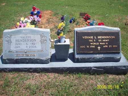 HENDERSON, VALEDE - Newton County, Arkansas | VALEDE HENDERSON - Arkansas Gravestone Photos