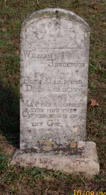 HENDERSON, WILLIAM - Newton County, Arkansas | WILLIAM HENDERSON - Arkansas Gravestone Photos