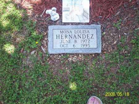 HERNANDEZ, MONA LOUISA - Newton County, Arkansas   MONA LOUISA HERNANDEZ - Arkansas Gravestone Photos