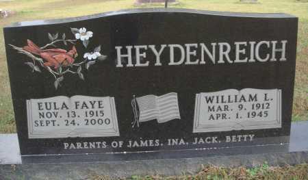 HEYDENREICH, EULA FAYE - Newton County, Arkansas   EULA FAYE HEYDENREICH - Arkansas Gravestone Photos