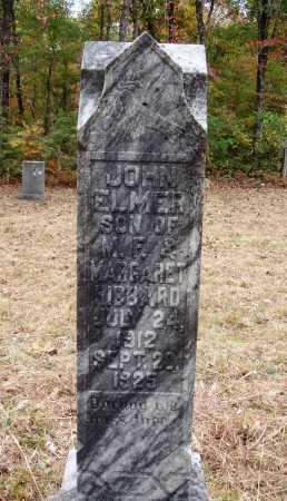 HIBBARD, JOHN ELMER - Newton County, Arkansas | JOHN ELMER HIBBARD - Arkansas Gravestone Photos