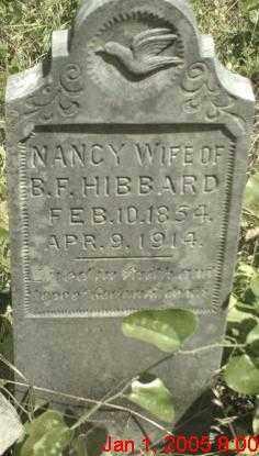 HIBBARD, NANCY - Newton County, Arkansas | NANCY HIBBARD - Arkansas Gravestone Photos