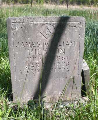 HICKMAN, JAMES WILLIAM - Newton County, Arkansas | JAMES WILLIAM HICKMAN - Arkansas Gravestone Photos