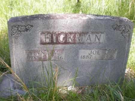 HICKMAN, JOE C. - Newton County, Arkansas | JOE C. HICKMAN - Arkansas Gravestone Photos