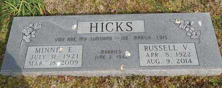 HICKS, MINNIE E - Newton County, Arkansas | MINNIE E HICKS - Arkansas Gravestone Photos