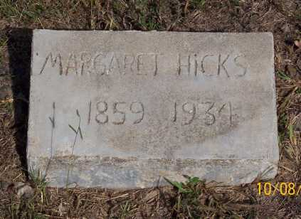 HICKS, MARGARET - Newton County, Arkansas | MARGARET HICKS - Arkansas Gravestone Photos