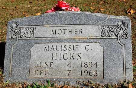 HICKS, MALISSIE C. - Newton County, Arkansas | MALISSIE C. HICKS - Arkansas Gravestone Photos