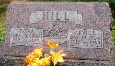 HILL, CORA - Newton County, Arkansas | CORA HILL - Arkansas Gravestone Photos