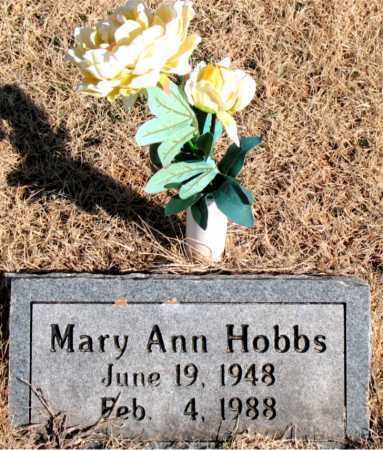 HOBBS, MARY ANN - Newton County, Arkansas   MARY ANN HOBBS - Arkansas Gravestone Photos