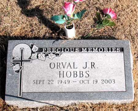 HOBBS, ORVAL J. R. - Newton County, Arkansas | ORVAL J. R. HOBBS - Arkansas Gravestone Photos