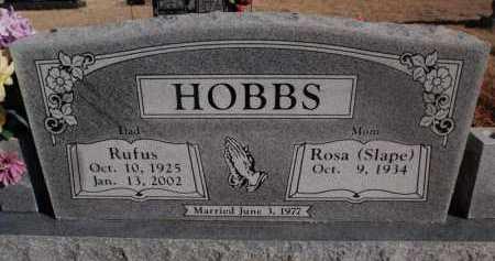 HOBBS, RUFUS - Newton County, Arkansas   RUFUS HOBBS - Arkansas Gravestone Photos