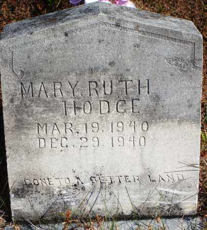 HODGE, MARY RUTH - Newton County, Arkansas | MARY RUTH HODGE - Arkansas Gravestone Photos