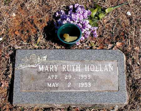 HOLLAN, MARY RUTH - Newton County, Arkansas | MARY RUTH HOLLAN - Arkansas Gravestone Photos