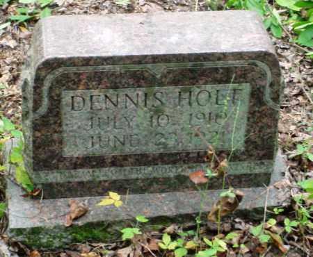 HOLT, DENNIS - Newton County, Arkansas   DENNIS HOLT - Arkansas Gravestone Photos