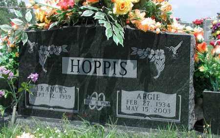 HOPPIS, ARGIE - Newton County, Arkansas   ARGIE HOPPIS - Arkansas Gravestone Photos