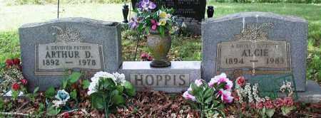 HENDERSON HOPPIS, ALICE - Newton County, Arkansas | ALICE HENDERSON HOPPIS - Arkansas Gravestone Photos