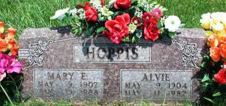 HOPPIS, ALVIE - Newton County, Arkansas | ALVIE HOPPIS - Arkansas Gravestone Photos
