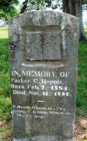 HOPPIS, PARKER C - Newton County, Arkansas | PARKER C HOPPIS - Arkansas Gravestone Photos