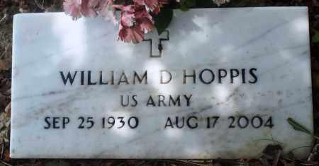 HOPPIS (VETERAN), WILLIAM D - Newton County, Arkansas | WILLIAM D HOPPIS (VETERAN) - Arkansas Gravestone Photos