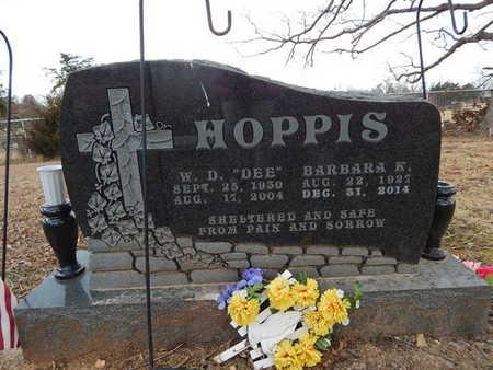 "HOPPIS, W D ""DEE"" - Newton County, Arkansas   W D ""DEE"" HOPPIS - Arkansas Gravestone Photos"