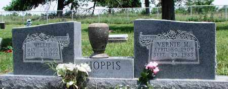 HOPPIS, WILLIE - Newton County, Arkansas | WILLIE HOPPIS - Arkansas Gravestone Photos