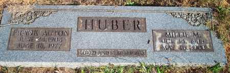 HUBER, MILLIE M. - Newton County, Arkansas | MILLIE M. HUBER - Arkansas Gravestone Photos
