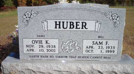 HUBER, SAM F. - Newton County, Arkansas | SAM F. HUBER - Arkansas Gravestone Photos