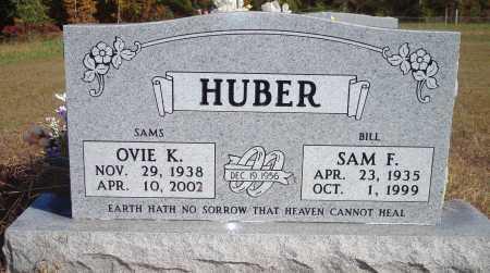 HUBER, OVIE K - Newton County, Arkansas | OVIE K HUBER - Arkansas Gravestone Photos